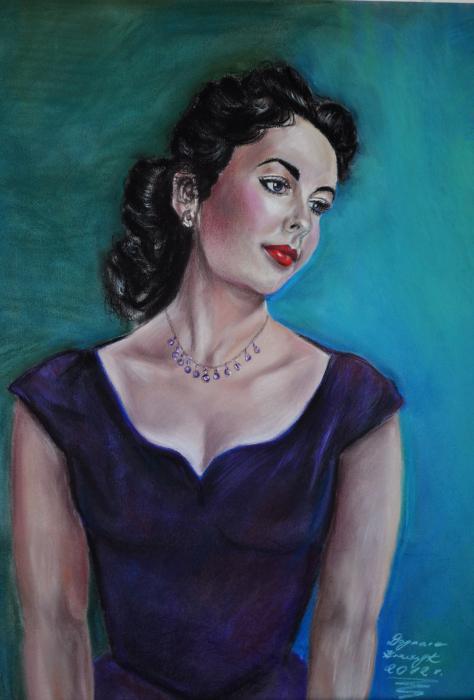 Elizabeth Taylor por Zahira